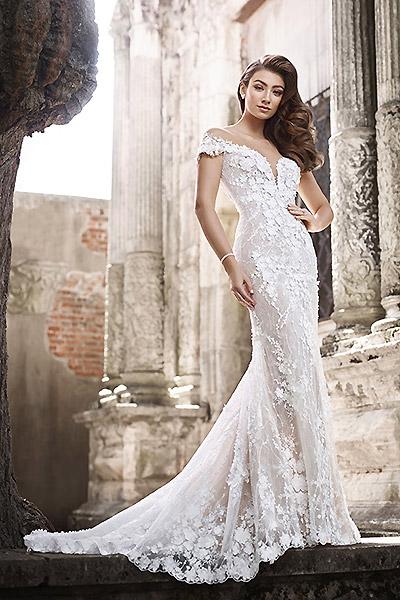 mon cheri martin thornburg wedding dress collection